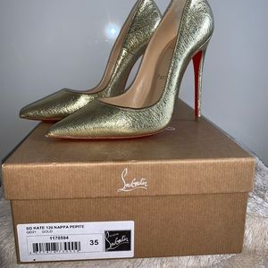 So Kate 120 Nappa - Gold size 35/5